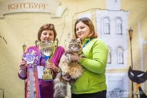 Наталья Сертакова, Надежда Лауфер и победитель - Утёс Ангара!