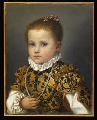 Джованни Баттиста Морони. Портрет девочки из семейства Редетти. 1570. Академия Каррара, Бергамо