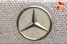 Diamond encrusted Mercedes