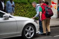 Diamond encrusted Mercedes